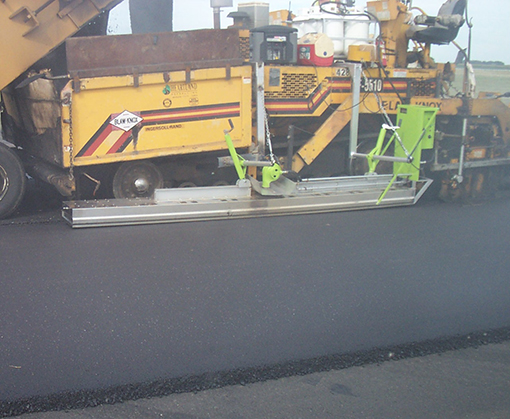 Paver Mounted